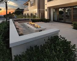 Modern Outdoor Firepit Inspiration  Honeysuckle LifeModern Fire Pit
