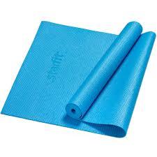 <b>Коврик</b> для йоги Asana, синий (артикул 43.40) - <b>Проект 111</b>