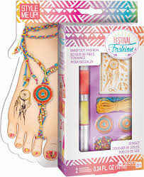 набор для изготовления браслетов и татуировок для ног Wooky 00342