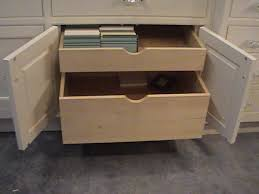 ... Drawer design, White Rectangle Modern Wooden Pull Out Drawers And Books  Design: Unique Pull ...