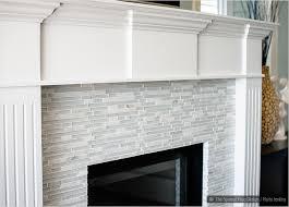 marble fireplace tiles white trim elegant white marble glass kitchen backsplash tile