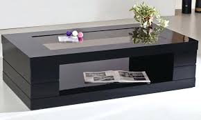 black coffee table and end tables set