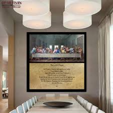 dpartisan large modern abstract art oil painting last supper square size the lord s prayer wall decor on large last supper wall art with dpartisan large modern abstract art oil painting last supper square
