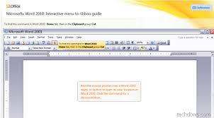 donwload microsoft word download microsoft word 2010 interactive menu to ribbon guide