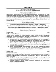Fields Related To Facility Manager Resume 16 Parks And Facility Manager  Resume ...