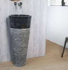 Marble pedestal sink Bathroom Sink Black Carved Marble Pedestal Sink 90 40cm Peedeehomesinfo Black Carved Marble Pedestal Sink 90 40cm