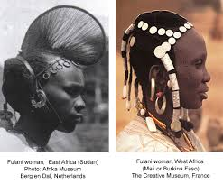 the plexity and symbolism of fulani coiffures hair ornaments jewelry clothing and tatoos reflect their history as a conquering people