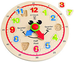 Hape <b>Happy</b> Hour Clock Time Learning <b>Puzzle</b> - CanonigoZsadzd