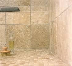 walnut travertine bathroom