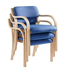 pra50001 wood frame stack chair prague with arms enlarged view