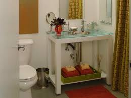 modern bathroom countertops. Beautiful Countertops Modern Glass Vanity Countertop In White Bathroom On Countertops O