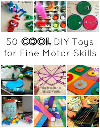 fine motor skills development with 50 cool diy toys on lalymom