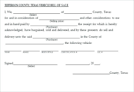 Private Car Sales Receipt Template Bill Sale Of Document Example For