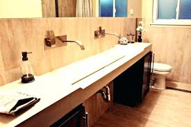 long trough sink trough bathroom sink with two faucets bathroom vanity small vessel sinks trough sink with two faucets stainless steel trough sink for