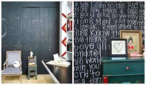 blackboard paint wall ideas