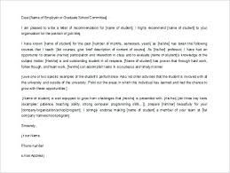 Sample Recommendation Letter For Employee Co Of Job From