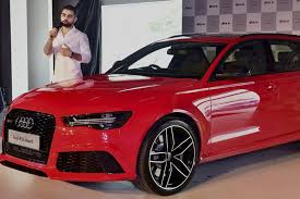 new car launches audiVirat Kohli launches Audi RS6 Avant priced at Rs 135 cr  The