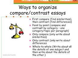 Comparison Contrast Essays  Self study version  wikiHow