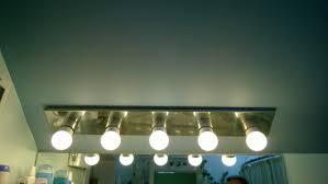 Bathroom Lighting Bars Master Bathroom Light Bar Replaced Orbited By Nine Dark Moons