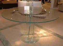 fabulous modern round glass dining table best round glass dining table interior home design