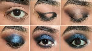 elegant blue eyes makeup tutorial 1