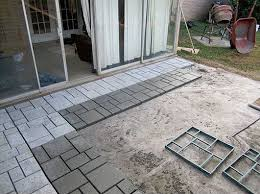 diy cool creative patio flooring ideas 01