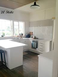 U Shape Kitchen Layout U Shaped Kitchen Layout With Rustic Style Of Flooring Design With