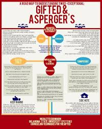 educational infographic data visualisation gifted and asperger s a roadmap to understanding twice exceptional students infographic infographic descrip