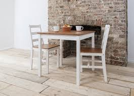 Small Dining Set Round 5 Piece Dolce Solid Wood Brown