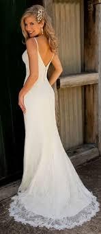 best 25 spaghetti strap wedding dress ideas