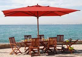 best patio umbrella materials