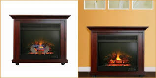 home depot canada 62 off paramount clayton mahogany electric fireplace now 189