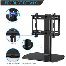 Tv Stands For 50 Flat Screens Fitueyes Universal Tv Stand Pedestal Base Wall Mount For 27 37