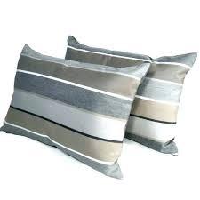 blue and tan throw pillows grey brown exterior outdoor pillow cover decorative striped lumbar brow striped outdoor pillows