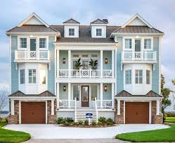 blue exterior paintBeach House Paint Color Ideas  Home Bunch  Interior Design Ideas