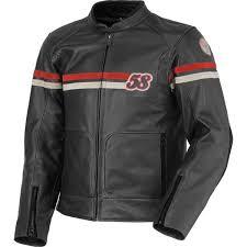 scott 58th vintage leather jacket fc moto english