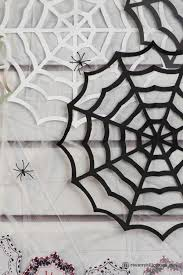 Give your home — indoor and out — a festive. Paper Spider Web Diy Halloween Decor