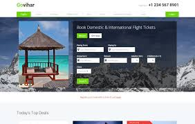 Travel Templates Go Vihar A Travel Guide Flat Bootstrap Responsive Web Template By