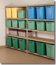 basement storage shelves. Basement Shelves And Color Coded Bins On Storage
