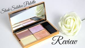 produkttest sleek solstice highlighting palette swatches review you