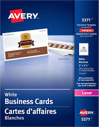 Avery Business Cards Template 5371 Card Avery 5371 Business Card