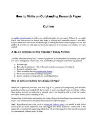 Research Paper Samples Child Abuse Outline Writing An