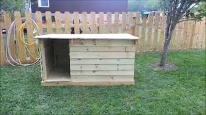 House Made From Pallets How To Build A Dog House Out Of Fence Pickets Youtube