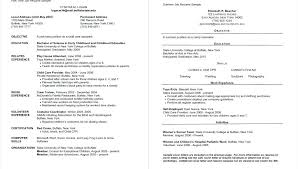 Two Page Resume Samples – Mycola.info