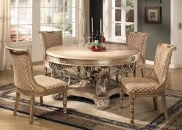 Round Table Dining Room Furniture - Formal dining room sets for 10
