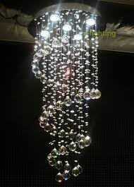 incredible ceiling drop lights modern crystal pendant lamp ceiling light spiral lighting rain amazing ceiling drop lights installing