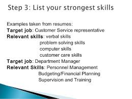 relevant skills resume cipanewsletter resume writing ppt