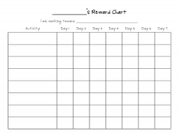 Reward Chart Template Toddler 020 Daily Activity Chart Template Staggering Ideas Routine