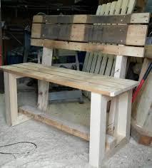 wooden pallet furniture. Wooden Pallet Bench Furniture