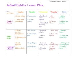 best toddler lesson plans ideas preschool  infant blank lesson plan sheets infanttoddler lesson plan